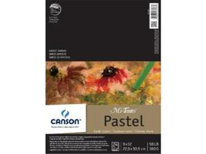 Canson C100510897 9 in. x 12 in. Fold Over Bound Pad Earth Tone