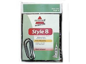 Bissell 3200 Lift-Off Bagless Upright Vacuum Belts, Style 8 & 14 Part