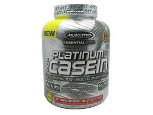 Muscletech 800514 Essential Series 100 Percent Platinum Casein Strawberry Shortcake