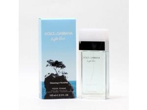 Dolce & Gabbana 10082494 Light Blue Dreaming In Portofino Ladies EDT Spray - 3.4 oz.