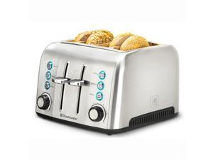 Toastmaster TM-43TS 4 Slice Deluxe Stainless Steel Toaster