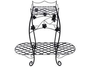 Creative Motion 13543 Wire Planter Stand - 2 - Tier