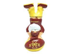 Iowa State Cyclones Garden Gnome - Handstand On Football