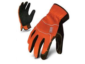 Ironclad Performance Wear EXO-HSO-04-L EXO Hi-Viz Utiltity Safety Glove, Large, Orange