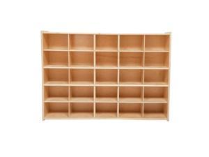 Wood Designs C16009F 25 Tray Storage without Trays, Assembled