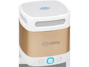 MiiKey MiiBox MiniBluetooth Speaker - Gold