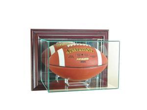 Perfect Cases WMFB-C Wall Mounted Football Display case, Cherry