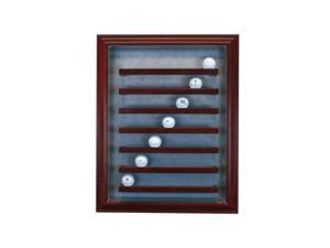 Perfect Cases PC-49GLFCB-C 49 Golf Ball Cabinet Style Display Case, Cherry