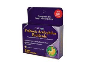 Natrol 800490 Natrol Probiotic Acidophilus BioBeads - 90 Beads