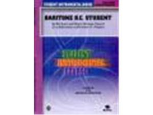 Alfred 00-BIC00361A Student Instrumental Course- Baritone- B.C. Student- Level III - Music Book