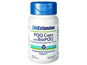 Life Extension 1500 10 mg. PQQ Caps with Bio PQQ