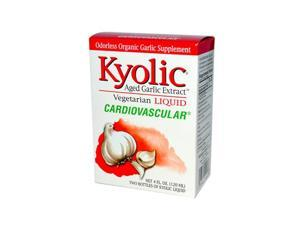 Kyolic ECW832709 Aged Garlic Extract Cardiovascular Liquid 4 fl oz.