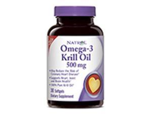 Frontier Natural 229757 500 mg. Heart Health Omega-3 Krill Oil, 30 Softgels