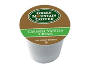 Frontier Natural Products 225880 Green Mountain Coffee K-Cup, Caramel Vanilla Creameam, 12-Count