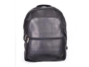 Royce Leather VLBP-BLK Vaquetta 15 Inch Laptop Backpack, Black