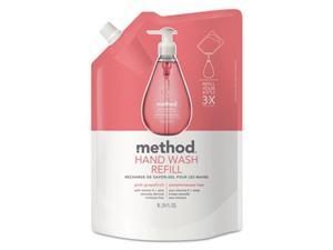 Method Products 00655CT Gel Hand Wash Refill, Pink Grapefruit Scent - 34 oz.