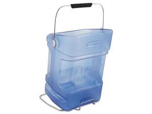 Rubbermaid Commercial Products 9F54TBL Ice Tote With Hook Assembly, 5.5 gallon - Blue