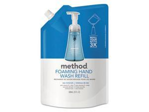 Method Products 00667CT Foaming Hand Wash Refill, Sea Minerals - 28 oz.