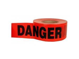 CH Hanson 19005 3 In. X 1000 Ft. X 1.5 Mil Danger Barricade Tape, Pack Of 15