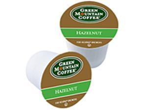 Frontier Natural Products 222079 Green Mountain Coffee Roasters Gourmet Single Cup Coffee Hazelnut Green Mountain Coffee 12 K-Cups