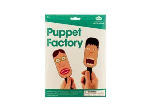 Bulk Buys GW106-48 Puppet Factory Paddle Puppet Making Kit
