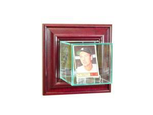 Perfect Cases WMCRD-C Wall Mounted Card Display Case, Cherry