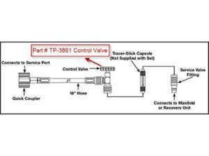 Tracer Products Dltp3861 Control Valve F-3860 and 3870