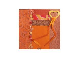 Alvin BHS202 Paper Collection Embellishment Pack Fire Opal