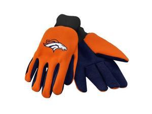 Forever Collectibles 74232 Denver Broncos Colored Palm Sport Utility Gloves