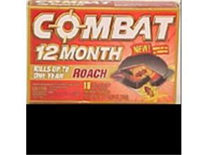 Dial Corporation 97218 Combat 12 Month Small Roach Bait - 18 Pack, Pack Of 6