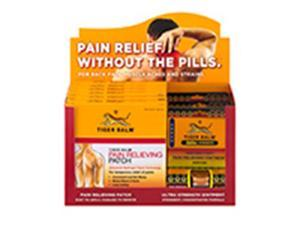Frontier Natural Products 229173 Tiger Balm Patch & Ultra Strength Ointment - 0.63 oz.
