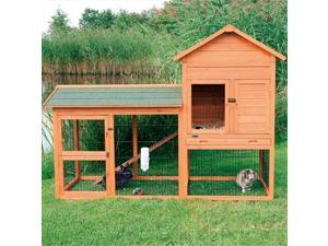 TRIXIE Pet Products 62332 Rabbit Hutch With Outdoor Run