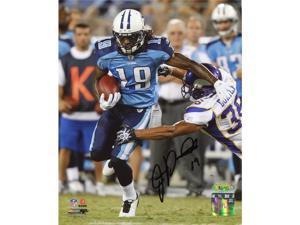 TRISTAR James Kirkendoll Autographed Tennessee Titans 8x10 Photo
