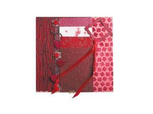 Alvin BHS204 Paper Collection Embellishment Pack Ruby