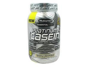 Muscletech 800515 Essential Series 100 Percent Platinum Casein Vanilla Ice Cream