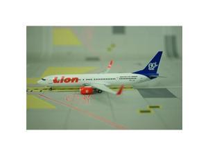 Phoenix Diecast 1-400 PH784 Phoenix Lion Air 737-900ER 1-400 Blue Tail 60TH PK-LJO