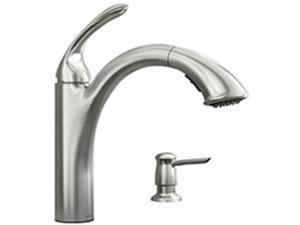 Moen 4374930 Kitchen Faucet 1 Handel Pullot Stainless Steel