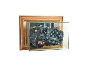 Perfect Cases WMGLV-W Wall Mounted Glove Display Case, Walnut