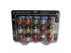 Franklin Nhl Mini Goalie Mask Tracker-Standings Board