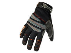 Ego 16154 ProFlex 710 Mechanics Gloves, Large, Black