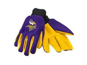Forever Collectibles 74235 Minnesota Vikings Colored Palm Sport Utility Gloves