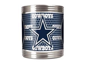 Great American Products 73503 Dallas Cowboys Stainless Steel Can Holder with Metallic Graphics