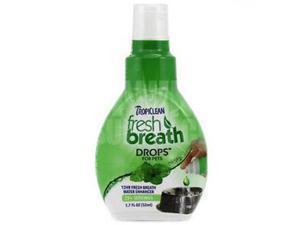 Tropiclean 001985 1.7 oz. Fresh Breath Drops Display, 6 Pieces