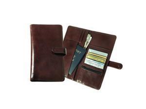Raika ST 117 BEIGE Deluxe Travel Wallet with Snap Closure - Beige