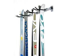 Monkey Bars 03040 Cross Country Ski Rack, Holds 4 Pair