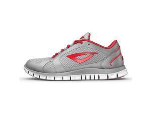 3N2 7920-7335-130 Velo Runner Shoe, Graphite And Red - 13