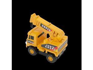 Mota YLLWCAR-EXC Mini Construction Truck-Excavator, Yellow
