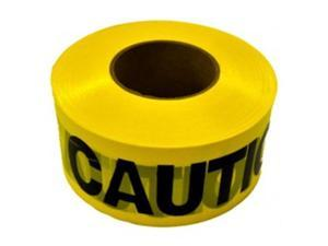 CH Hanson 19000 3 In. X 1000 Ft. X 1.5 Mil Caution Barricade Tape, Pack Of 15