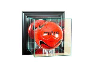 Perfect Cases WMVLB-B Wall Mounted Volleyball Display Case, Black