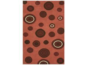 Noble House DECO740679106 Decor Pink - Rug 7.9x10.6